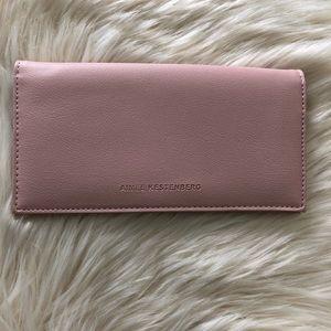 Aimee Kestenberg Marietta pink vegan wallet